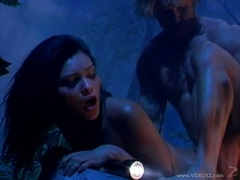 Latin vixen Mari Possa gets fucked hard and facialised in the jungle