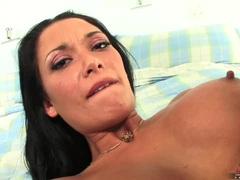 Pornstar Malezia getas her latina twat fucked hard and creampied