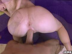Bubble butt babe Naomi Cruise gets rammed hard doggystyle