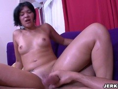 Bubble butt latina Rosario Stone sucking and humping on a hard shaft