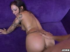 Naughty Kylee King gets fucked hard from behind and creampied