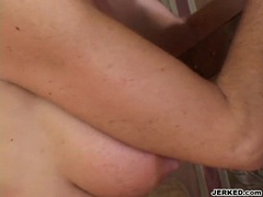 Regan Anthony takes a hardrock meat shaft on her warm mouth