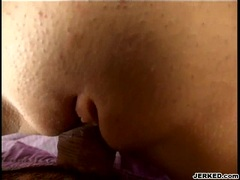 Pornstar Jamie Elle gets her hole rammed and creampied