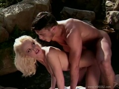 Lovely Sylvia Saint gets her tight ass rammed hard and takes huge cumspray