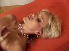 Gorgeous busty Jana Cova rubbing her wet pink hole