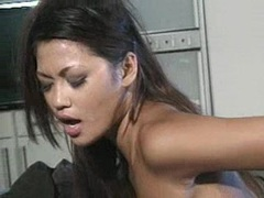 Nasty lesbos Charmane Star and Gina Ryder enjoys pussy licking action