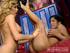 Hot Alexis Amore gets her sweet latin pussy licked