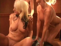 BlondesPuma Swede and friends having nasty lesbian groupsex