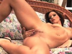 Slut Susana Spears having a hot solo masturbation