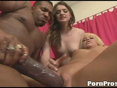 Emma Heart getting her pussy abused by a gigantic black cock