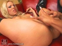 Horny Vega Vixen and her ebony friend enjoys hot pussy licking action