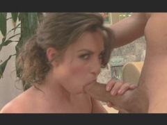 Hot ass Naomi gets gagged and fucked hard from behind