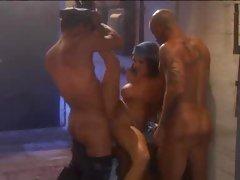 Big tits slut Alektra Blue gets dominated and facialised