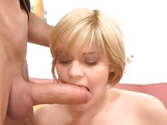 Hot Little Teen Tramp Haileey James Suffs Her Mouth With Hard Cock