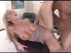 Sexy hot gal Nikki Benz getting pounded on her sugary sweet pussy