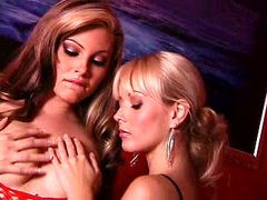 Horny hot Jesse Capelli getting too hot with a blonde girlfriend
