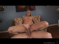 Payton Leigh opens her tight ass and takes a huge cock nice and deep