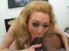 Super slut Liv Wylder stretchs her lips over huge soul pole deepthroating
