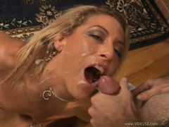 Chelsea Zinn loves to fuck then take a face full of hot cum