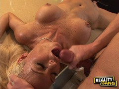 Rhylee Richards always wanted to get jizzed on her mouth after a wild fuck