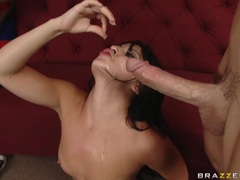 Cum loving honey Madison Ivy getting cummed on her mouth like she always wanted