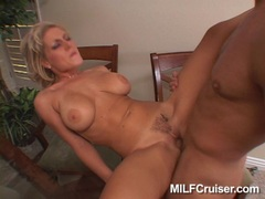 Horny porn babe Velicity Von gets her shaved twat plowed by a massive dick