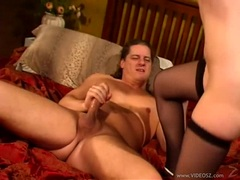 Alluring Elizabeth Lawrence getting boned on her tight ass and enjoys a lot