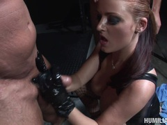 Sex slaved Mya Nicole tied up and gets fetishly fucked on her tight sweet ass
