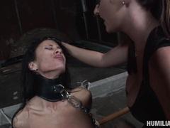 Big booty babe Mya Nicole receives a fresh load of jizz ssprayed on her mouth