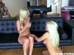 Pussy lover KAyden Kross enjoys her mouth on Angelina's steamy warm snatch