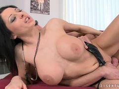 Sexy hot Alison Star getting rammed deeply in her sugary shaved snatch