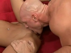 Tight ass babe Ruby Knox gets a good shafting with beefy hard cock