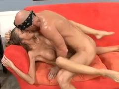 Joslyn James soaked with cum from hard cock that pounded pussy