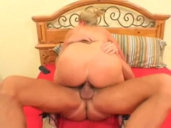 Big breasted milf Kylie Worthy slamed deep in her pink and mouth
