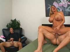 Summer Sins huge jiggs bounce as pussy gets drilled with cock