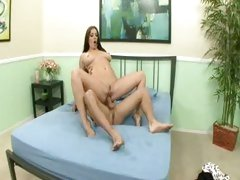 Big titted Piper Austin bounces her soaking wet cunt on a huge throbbing prick