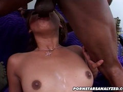 Filthy hot Lena Julliette opens her mouth and eagerly receives a hot cum load