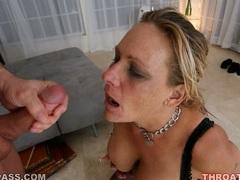 Matured hot whore Debi Diamond loves getting cummed on her face