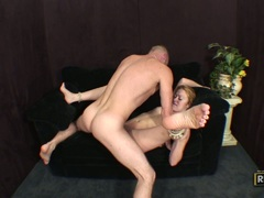 Homemade guy eating his cum out of pussy tmb