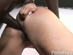 Filthy Sophia Castello and friend gets their tight moist pussies fucked hard