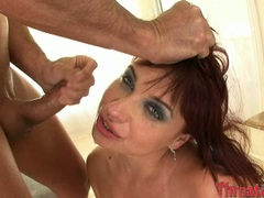 Scorching hot Patrizia Berger loves getting cummed on her mouth after a hot blow