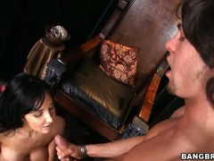 Alluring Diana Prince receives a hot spray of cock juice after a hot wild fuck