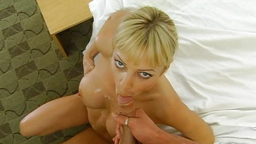 Nasty anal masturbation