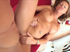 Alluring Carmen Mccarthy cant wait enough til she gets jizzed by her man's cock