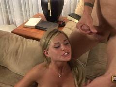 Slutty Alky Ann and girlfriends getting jizzed altogether after a rockin fuck