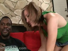 Slut Naomi Cruise fills her mouth with a blackzilla