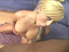 Block cock loving Chloe Chanel fucked then sucks it dry of all its creamy jizz