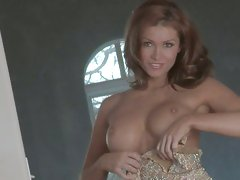 Horny nympho Heather Vandeven pops out hotse sweet titties for everyone's desire