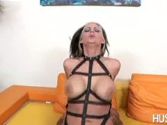 Filthy honey Phoenix Marie getting her twat cracked by a monster cock