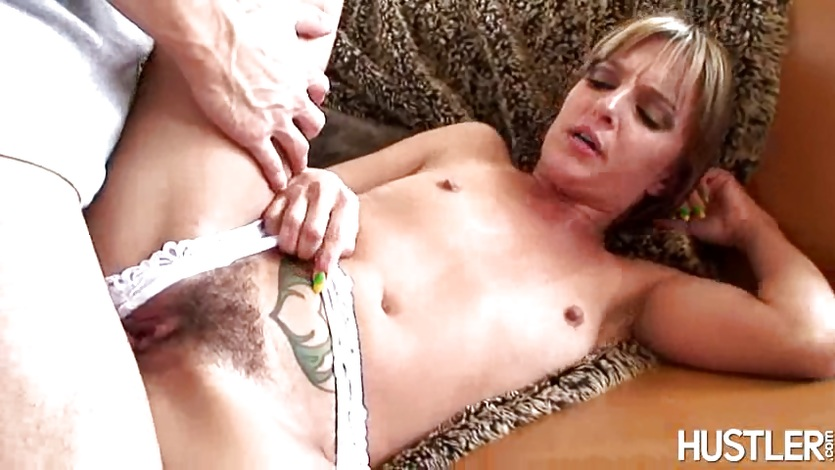 sexy small boobed Lexi Love enjoys the hard dick sliding in her slippery mouth